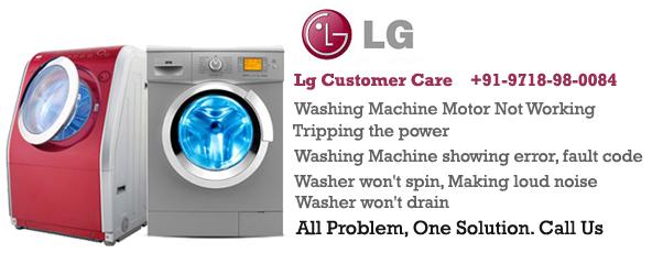Lg Washing Machine services